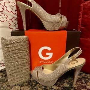 Guess Shoes - Shoes and Matching purse set